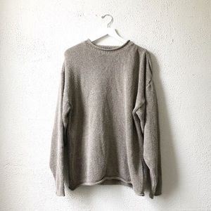 Preswick & Moore | Marled Knit Oversized Sweater L